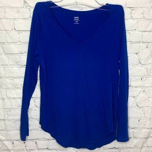 Old Navy royal blue long sleeve top
